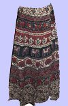 Elephants Wrap Skirt