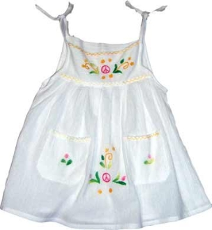 Children's Tie Up Dress