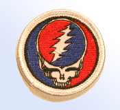"1"" Steal Your Face Patch"