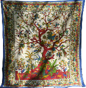 Tree of Life Tapestry-Queen