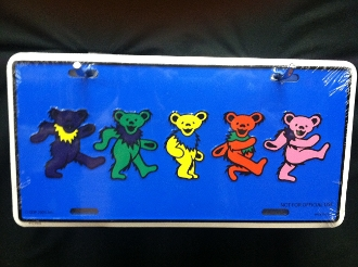 Dancing Bears License Plate