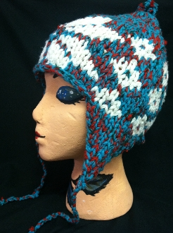Wool Winter Flap Hat