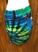 Indo Blue Gecko Tube Top/ Skirt
