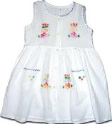 Childrens Button Dress