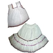 Childrens Gasa Tank/Skirt Set