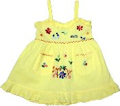 Childrens Elastic Back Dress