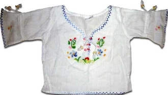 Children Embroidered L/S Top