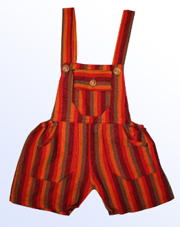 Children's Cotton Overalls