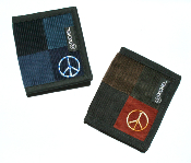 Patchwork Tri-Fold Wallets