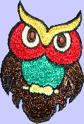 "5"" Owl Patch"