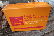 Carrot & Pomegranate Soap